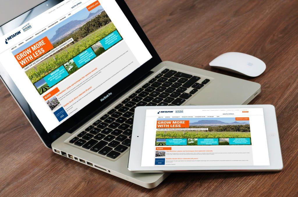 Netafim Website