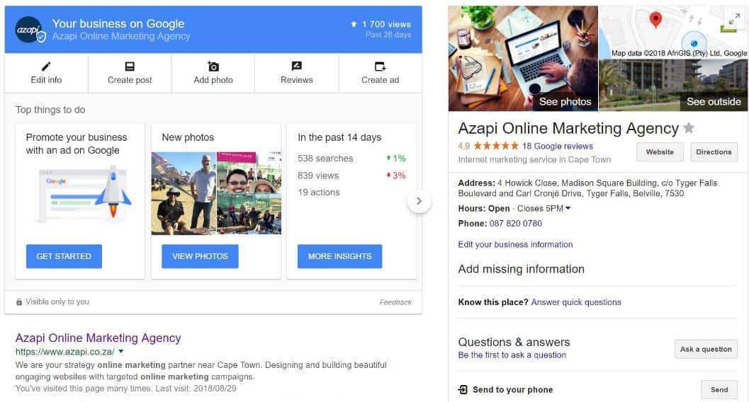 Azapi Digital Partner Google My Business