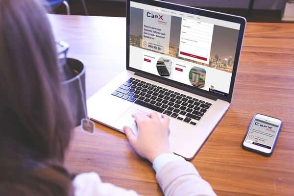 CapX Finance Website
