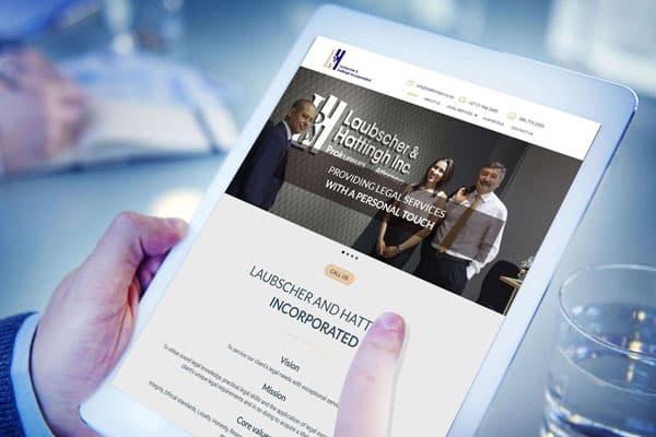 Laubscher and Hattingh Website