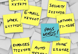 Make sure your passwords are protected